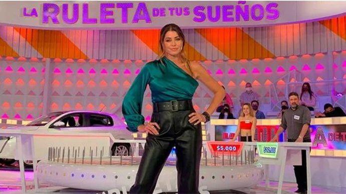 Pamela David vuelve a la televisión con La ruleta de tus sueños