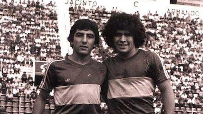 Osvaldo Pichi Escudero: Jugar con Diego, el más grande de todos los tiempos, fue un enorme privilegio