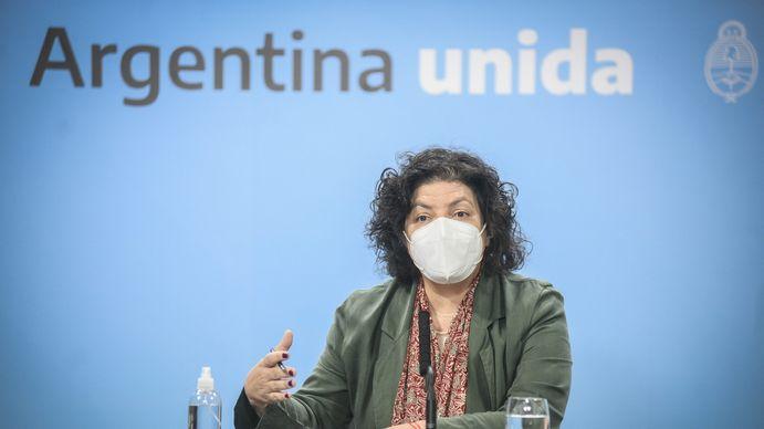 Carla Vizzotti anunció el fin del uso del barbijo al aire libre