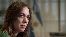 María Eugenia Vidal: Que presidente vaya y se ponga a disposición de la Justicia