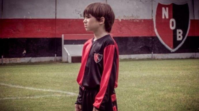 Lionel Messi en las divisionales de Newells