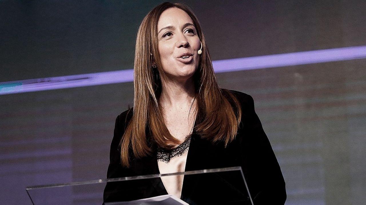 María Eugenia Vidal, precandidata a diputada nacional
