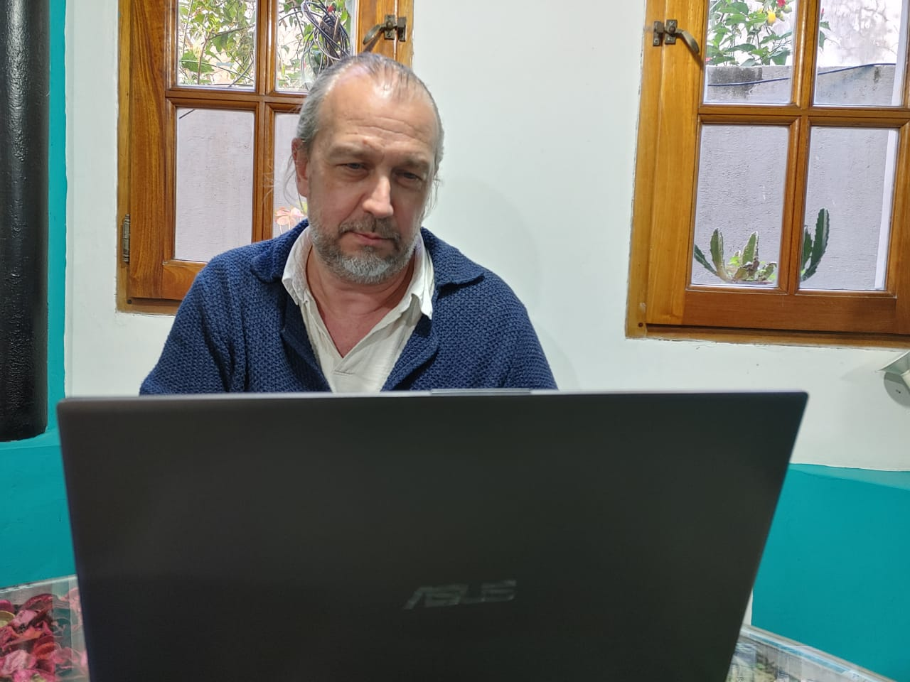 Gustavo Zbuczynski junto a Luis Novaresio respecto de la legalización de la marihuana