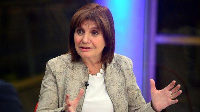 Patricia Bullrich: Formosa está fuera del sistema republicano, no hay división de poderes
