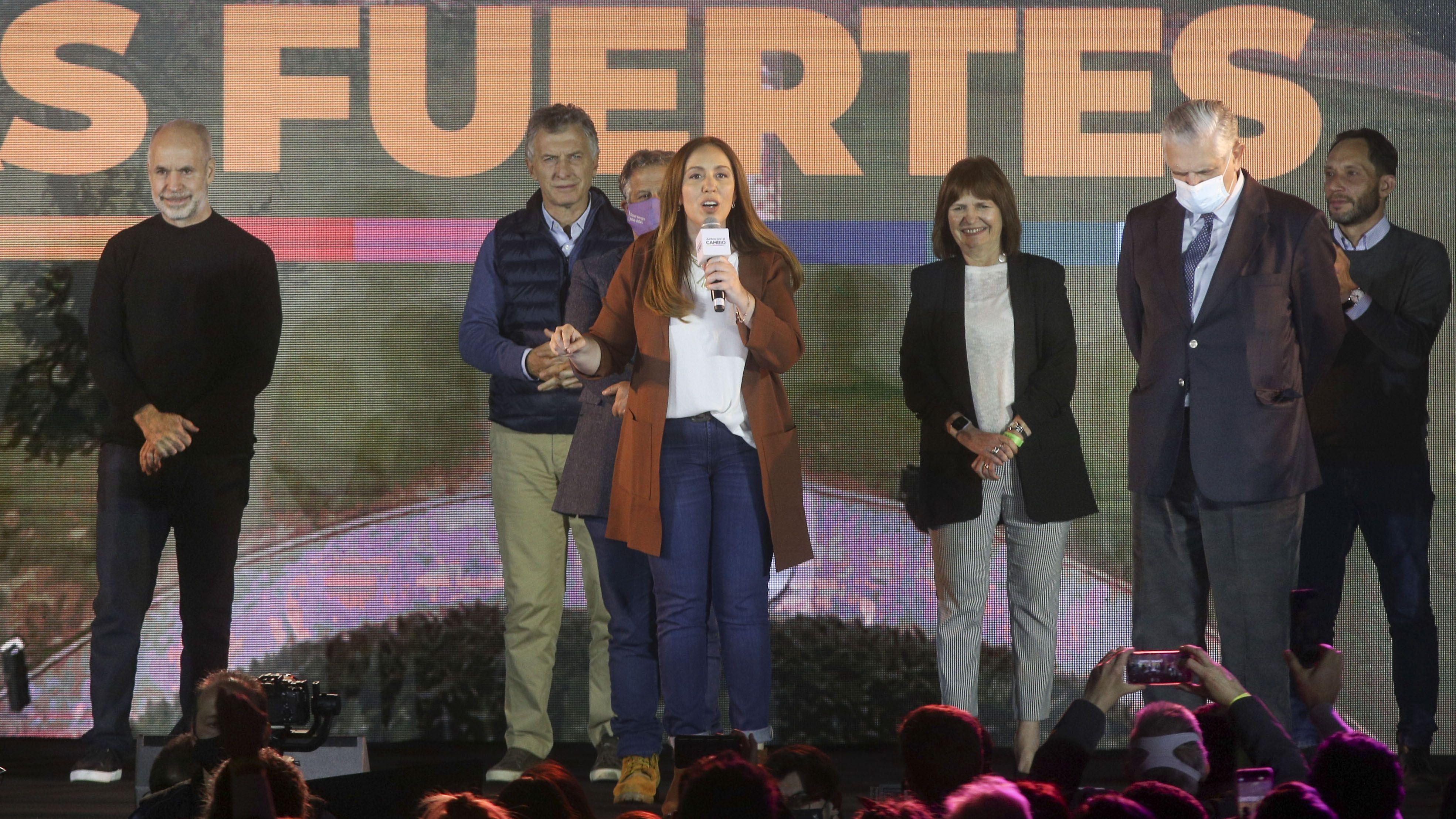 María Eugenia Vidal: No creo en la revancha, vamos a trabajar desde cero