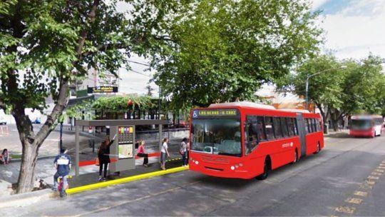 Metrobus a la mendocina, con micros menos contaminantes